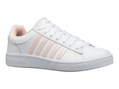 K-Swiss Court Winston White/Pearl Womens Trainer