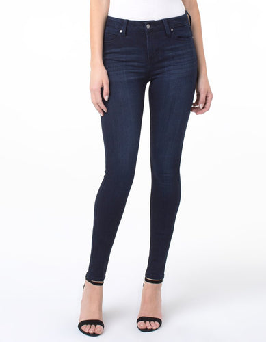 Liverpool Jeans Sienna Pull On Stretch Legging Petrol