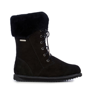 Emu Shoreline W11249 Black Warm Lined Waterproof Boot