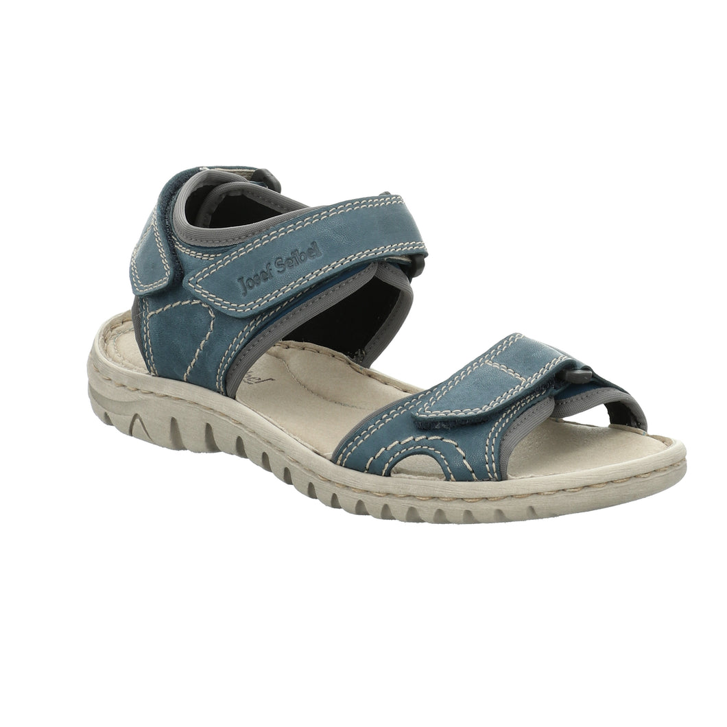 Josef Seibel Lucia 15 Blue Women's Sandals