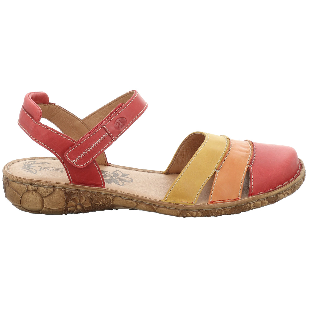 Josef Seibel Rosalie 44 Red Multi Womens Shoe