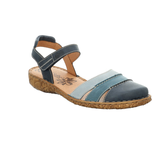 Josef Seibel Rosalie 44 Blue Multi Womens Shoe
