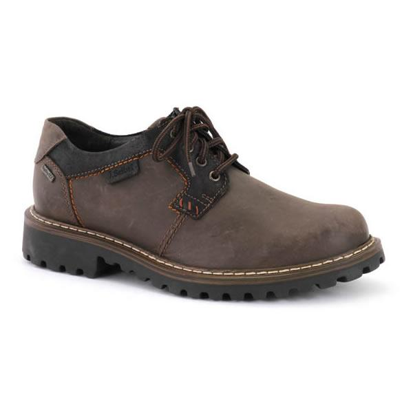 Josef Seibel Chance 08 Men's Waterproof Lace up Shoe Brown
