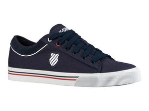 K-Swiss Bridgeport II Navy/Red/White Mens Trainer