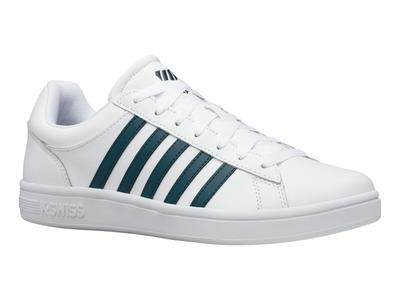 K-Swiss Court Winston White/Stargazer Mens Trainer