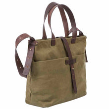 Saccoo Paris 44402 Waxed Cotton Bag