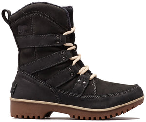 Sorel Meadow Lace Premium Black Womens Boot
