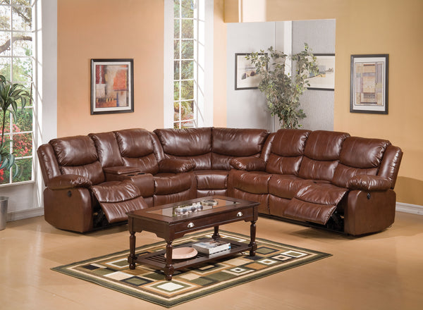 Fine Acme Fullerton Brown Bonded Leather Match Sofa And Loveseat Recliner Dailytribune Chair Design For Home Dailytribuneorg