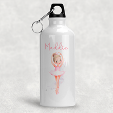Ballet Dancer Personalised Aluminium Water Bottle 400/600ml