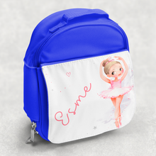 Ballet Dancer Personalised Kids Insulated Lunch Bag