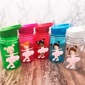 Ballet Kids Water Bottle Back To School