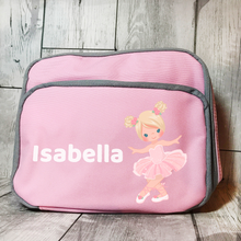 Ballet Insulated Personalised Lunch Bag Back to School