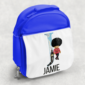 Beefeater Soldier Alphabet Personalised Kids Insulated Lunch Bag