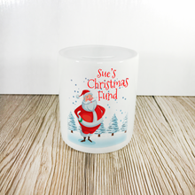 Personalised Christmas Fund Money Pot - Money Bank - Molly Dolly Crafts