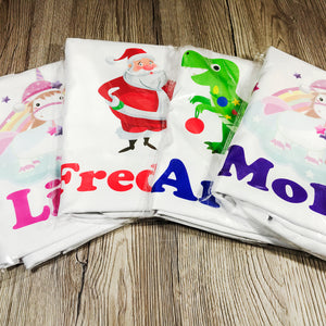Santa Personalised Christmas Eve Pillow Case & Book