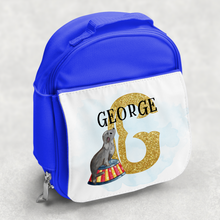 Circus Alphabet Personalised Kids Insulated Lunch Bag