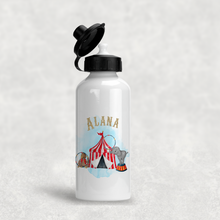 Circus Personalised Kids Aluminium Water Bottle 400/600ml