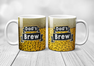 Dad's Brew Father's Day Mug