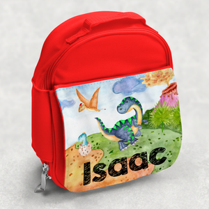 Dinosaur Personalised Kids Insulated Lunch Bag