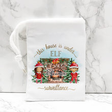 This House is Under Elf Surveillance Christmas Personalised Jigsaw Various Sizes & Pieces
