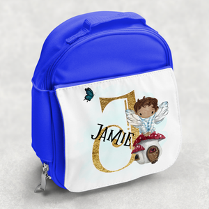 Fairy Alphabet Personalised Kids Insulated Lunch Bag