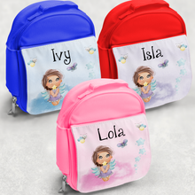 Fairy Personalised Kids Insulated Lunch Bag