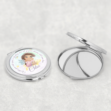 Fairy Personalised Compact Pocket Mirror When you wish upon a star
