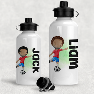 Football Personalised Water Bottle  - 400/600ml