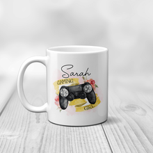 Gaming Girl Personalised Mug