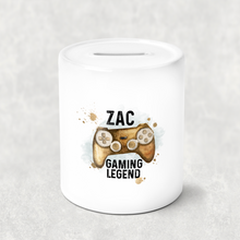 Gaming Legend Personalised Money Savings Pot