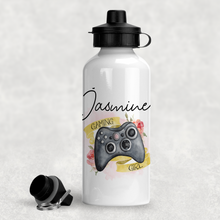 Gaming Girl Personalised Water Bottle  - 400/600ml