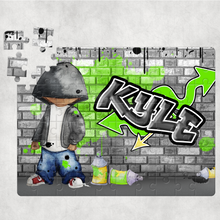 Graffiti Skater Personalised Jigsaw Various Sizes & Pieces