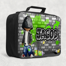 Graffiti Artist Personalised Insulated Lunch Bag