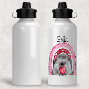Hedgehug Personalised Aluminium Water Bottle 400/600ml