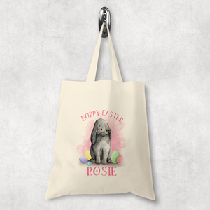 Hoppy Easter Bunny Watercolour Tote Bag