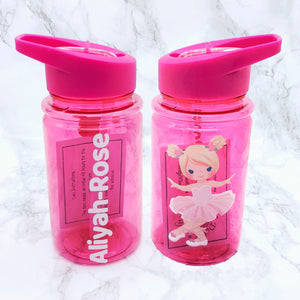 500ml Ballet Kids Water Bottle Back To School - Bottles - Molly Dolly Crafts