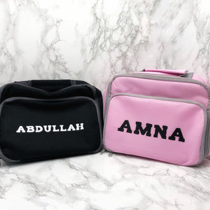 Insulated Personalised Lunch Bag Back to School -  - Molly Dolly Crafts