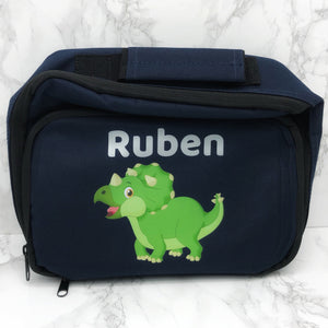 Dinosaur Insulated Personalised Lunch Bag Back to School -  - Molly Dolly Crafts