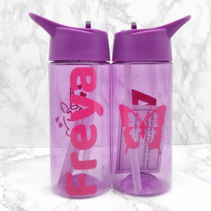 Kids Back To School Personalised Water Bottle 400ml - Bottles - Molly Dolly Crafts