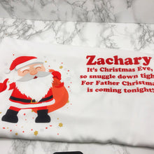 Santa Personalised Christmas Eve Pillow Case & Book - Christmas - Molly Dolly Crafts