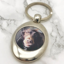 Photo Trolley Token Pound Keyring