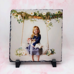 Custom Photo Personalised Slate