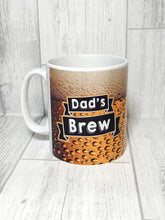 Dad's Brew Father's Day Mug - Mug - Molly Dolly Crafts