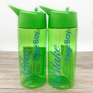 400ml Kids Wedding Role Water Bottle | Flower Girl Bottle | Page Boy Bottle - Bottles - Molly Dolly Crafts