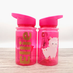 500ml Llama Kids Back To School Water Bottle