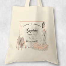 Hen Party Role Proposal Tote Bag I can't say I do without you Wedding Gift