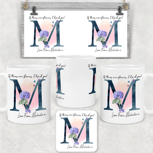 I'd Pick You Mother's Day Personalised Mug & Coaster