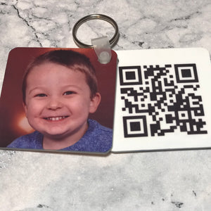 Father's Day QR Keyring