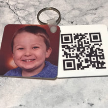 Mother's Day QR Keyring