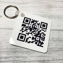 Father's Day QR Keyring - Keyring - Molly Dolly Crafts